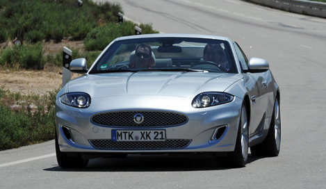 Фото Jaguar XK Convertible кабриолет, модельный ряд 2012 г