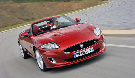 Фото Jaguar XK R Convertible кабриолет, модельный ряд 2012 г