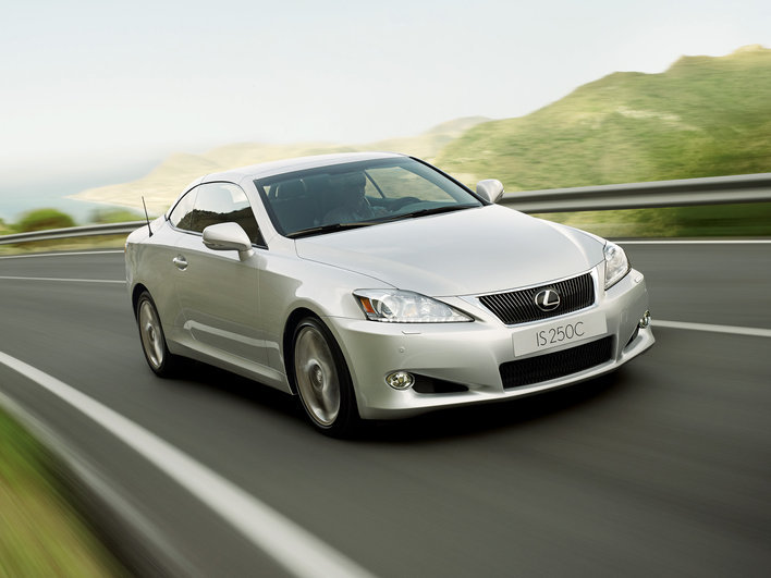 Фото Lexus IS C купе/кабриолет, модельный ряд 2010 г